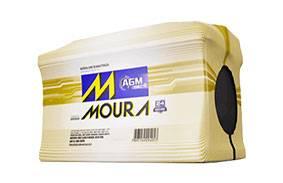 Bateria Start Stop Moura AGM em Curitiba