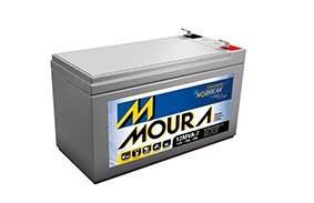 Bateria Estacionaria Moura para Nobreak em Curitiba
