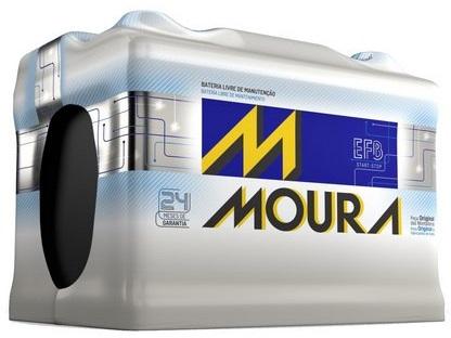 Bateria Automotiva Start Stop Moura EFB em Curitiba