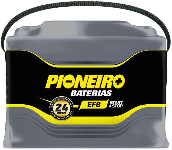 Bateria Automotiva Start Stop Pioneiro EFB em Curitiba