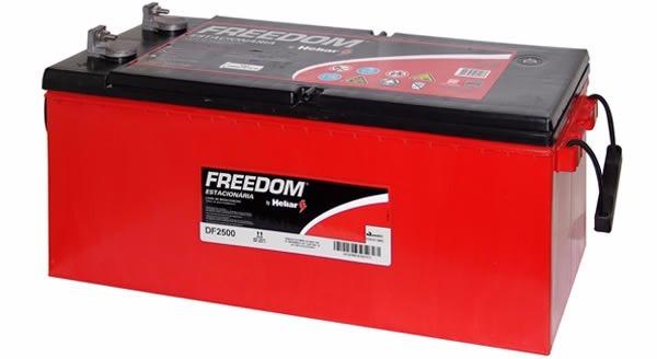 Bateria Estacionária Freedom Heliar para Nobreak em Curitiba