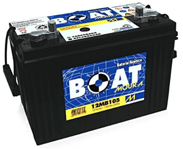 Bateria Náutica Moura Boat em Curitiba